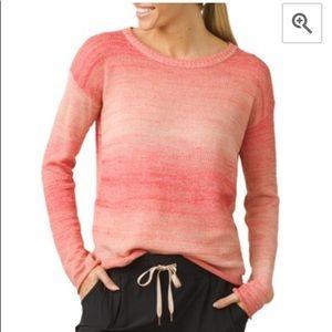 PrAna Nightingale Sweater Size Sunset Pink Size M